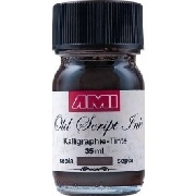 AMI - Old Script Ink  Calligraphy-tinte 35 ml Sepia
