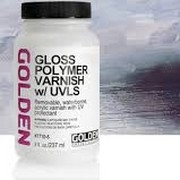 Golden - Polymer Varnish Gloss (UVLS) 237 ml.
