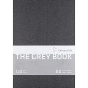 Hahnemühle - Skitzebook The grey book 120 gr. 40  Ark A4