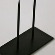 Powertex - Sokkel sort 2 pinde
