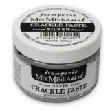 Stamperia - Mix Media Art Crackle Paste 150 ml. Silver
