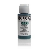 Golden Fluid 30ml. - Viridian Green Hue s. 1
