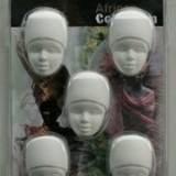 African Collection Lady 5 Half heads 0025