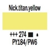 Amsterdam 20 ml. - Nickel Titan. Yellow