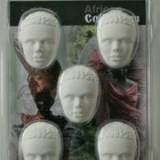 African Collection Prince 5 half heads 0026