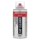 Amstadam Spray paint cap - black 2,5 cm
