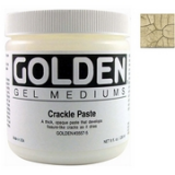 Golden - Crackle Paste 236 ml.