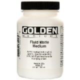 Golden - Fluid Matte Medium 236ml.