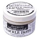 Stamperia - Mix Media Art Crakle Paste 150 ml White